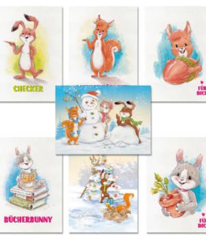 Postkarten Set 2